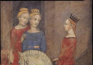 A.Lorenzetti, Buon governo, Brautzug - A.Lorenzetti /Buon Governo, Bridal Proc. -
