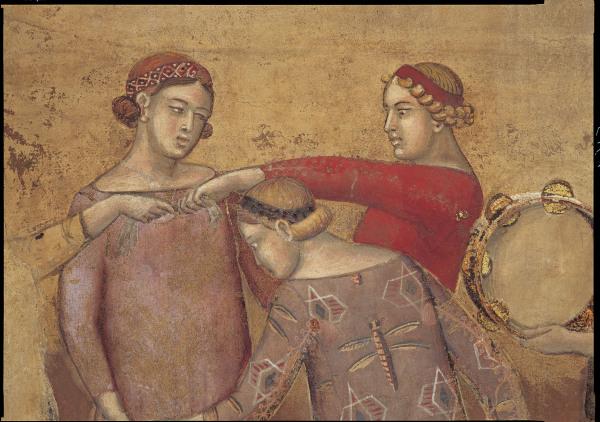 A.Lorenzetti, Buon governo, Reigentanz - A.Lorenzetti /Buon governo, Round Dance -